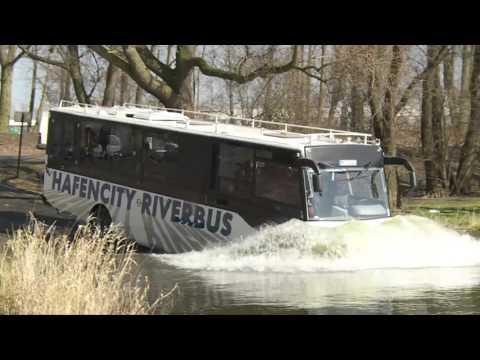 HafenCity Riverbus: el autobús anfibio de Alemania