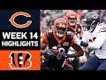 Bears vs. Bengals   NFL Week 14 Game Highlights