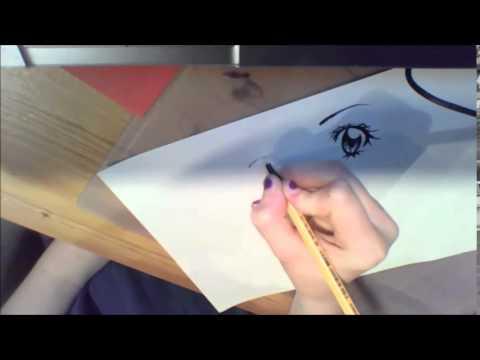 Manga-Augen Zeichnen – Tutorial