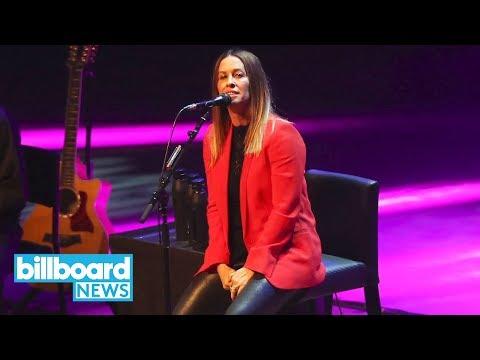 Alanis Morissette Headed on 25th Anniversary 'Jagged Little Pill' Tour | Billboard News