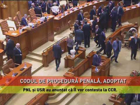 Proiectul de modificare a Codului de procedură penală, adoptat de Camera Deputaţilor