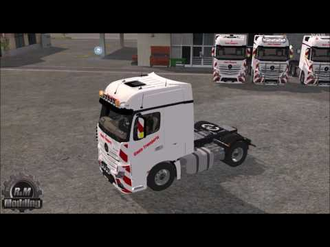 Mercedes Actros Pack v1.0.0