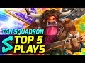 TGN Squadron's Top 5 Plays in Heroes of the Storm | Episode 1 | Heroes of the Storm Gameplay