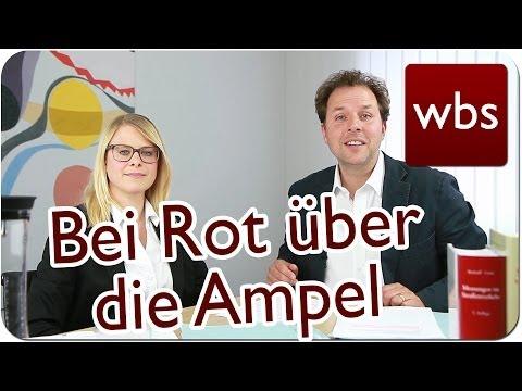Verkehrsrecht: Bei rot über die Ampel - was tun? |  ...