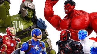 Video Go Avengers, The Villains Are Coming~! No one is match for Gladiator Hulk - ToyMart TV MP3, 3GP, MP4, WEBM, AVI, FLV Oktober 2018
