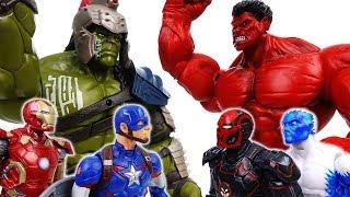 Video Go Avengers, The Villains Are Coming~! No one is match for Gladiator Hulk - ToyMart TV MP3, 3GP, MP4, WEBM, AVI, FLV Juli 2018