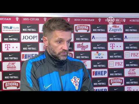 Izjava izbornika Igora Bišćana nakon ždrijeba za U-21 Europsko prvenstvo