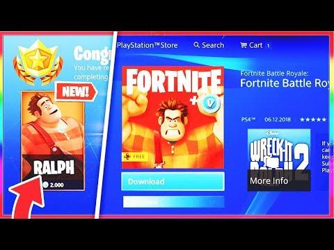 download new fortnite x wreck it ralph items fortnite wreck it ralph collab skin mp3 - fortnite x wreck it ralph