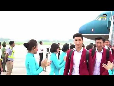 Cầu thủ U23 Việt Nam về nước được chào đón như thế nào ????