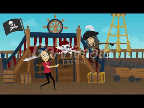 Pirates Around The Island Doris vs Pirate Trailer (2005)