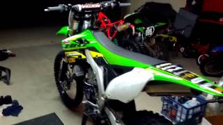 4. 2012 Kawasaki KX450 - just replaced the cam weight