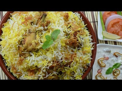 Chicken Biryani Restaurant Style  – By Vahchef @ vahrehvah.com