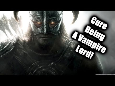 Skyrim: Dawnguard DLC: How to cure being a Vampire Lord - Rising at Dawn method!