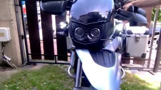8. LED lights on motorcycle BMW F 650 GS 2007
