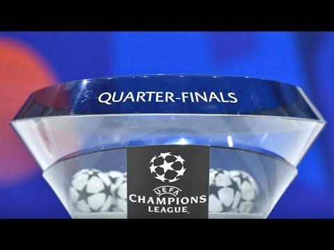 BARCELONA VS MAN UTD - Champions League Quarter-Final Draw 2019 In Full