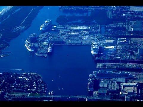 Tour of Port Everglades cruise terminal