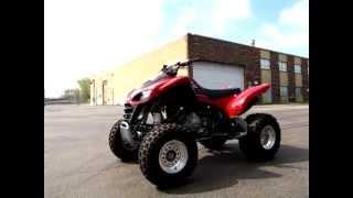 8. 2009 Kawasaki KFX700 Four Wheel ATV KSF700 US03000