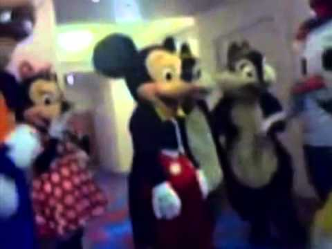 Disney Characters Dry Hump Behind Closed Doors at Disneyland