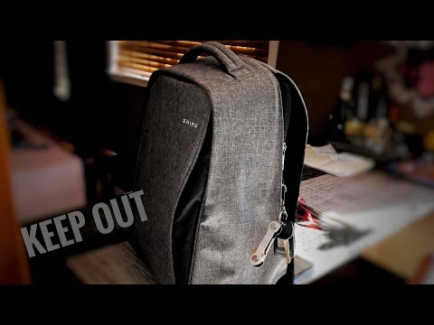 Zhifu Anti Theft Backpack Review - A Good Tech Travel Backpack