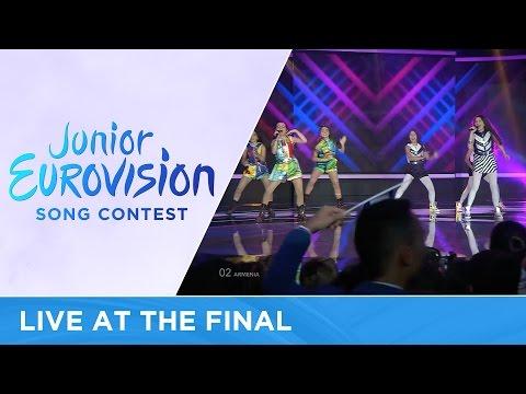 Anahit & Mary - Tarber (Armenia) LIVE 2016 Junior Eurovision (видео)