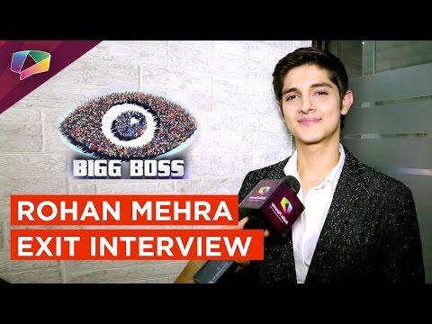 Rohan Mehra's EXCLUSIVE Interview Post His Evictio