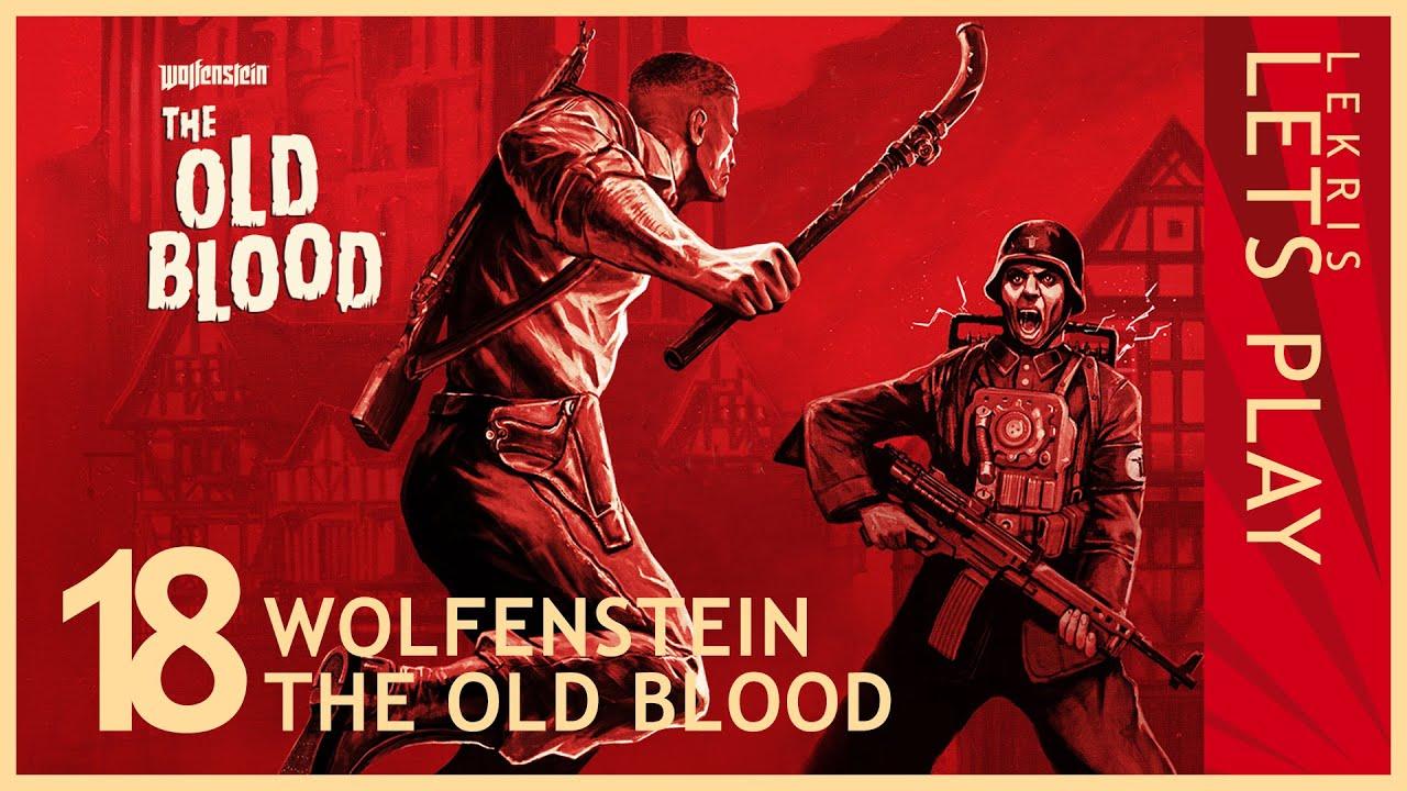 Wolfenstein - The Old Blood #18 - Untoter Friedhof