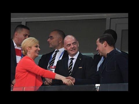 Who is President of Croatia? Kolinda Grabar-Kitarović is a World Cup Super Fan