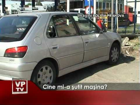 Cine mi-a şutit maşina?
