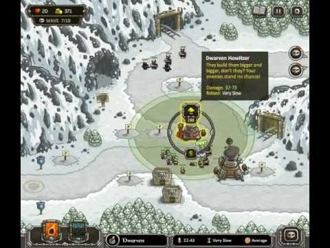 Kingdom Rush - Level 8 (Campaign) - Icewind Pass