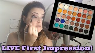 A little impromptu live stream trying out the Jaclyn Hill Morphe palette for the first time! I really wanted to share my first impressions with you. This is a fun, relaxed, informal video. A formal review will be posted to my channel as soon as I can! That will have better lighting, swatches, and a demo that you can see much better! *********FTC: This is not a sponsored video. I am not affiliated with Morphe in any way. This palette was not sent to me for PR.Magic Links (go.magik.ly) support this channel at no cost to you. Learn more about Magic Links here: https://www.youtube.com/watch?v=MGxvZVK6MRI*******************Visit our AWESOME Facebook Community! https://www.facebook.com/groups/whatsupinmakeup/*******************Instagram: jenluvsreviewsPeriscope: jenluvsreviewsTwitter: http://www.twitter.com/jenluvsreviews*******************Many YouTubers have inspired my choices for how I create content. Below are the people that have made the biggest impact!EmilyNoel83https://www.youtube.com/user/emilynoel83Stephanie Nicolehttps://www.youtube.com/user/MsStephNicEshani at TotalMakeupJunkie101https://www.youtube.com/user/TotalMakeupJunkie101Tati at GlamLifeGuruhttps://www.youtube.com/user/GlamLifeGuruCassie from Thrift Thickhttps://www.youtube.com/user/thriftthickPhilip DeFrancohttps://www.youtube.com/user/sxephil************************Music used in my videos:Out-Tro music - [Melodic Dubstep] Electro Light ft. Kathryn MacLean - The Edge [NCS Release]https://www.youtube.com/watch?v=15mPfnEHhxsMakeup Minute - 3 Best Background Music Breaking News from Free Music https://www.youtube.com/watch?v=ZXNZiH7Acu0********************************Referral and Affiliate Links earn me points toward a reward system, money, or money toward purchases on the site mentioned. The following links are referral and affiliate links. I only put referral/affiliate links to brands/websites that I personally enjoy.BoxyCharm (beauty): https://mbsy.co/dpqQDIpsy (beauty): http://www.ipsy.com/r/12b3Birch
