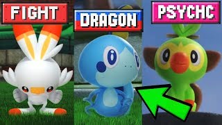 Pokemon Sword and Shield Starter Evolution Type Predictions! by Verlisify