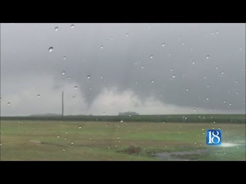 NWS: 'Weak' tornado touched down in Tippecanoe County