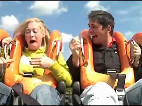 Rollercoaster Seat Belt Fail – Bad Boyfriend Laughs!
