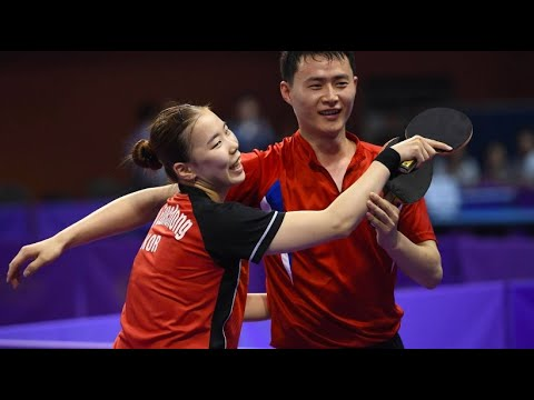 Nord- und Südkorea vereint: Historisches Tischtennis- ...