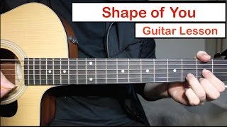 Video Ed Sheeran - Shape of You | Guitar Lesson (Tutorial) How to play Chords download in MP3, 3GP, MP4, WEBM, AVI, FLV Mei 2017