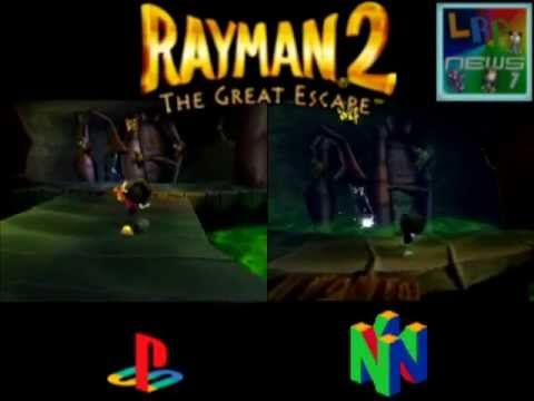 trucos para rayman 2 the great escape nintendo 64