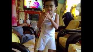 Angelo Jhonz Cugal sung this song when he was 5 years old. Video
