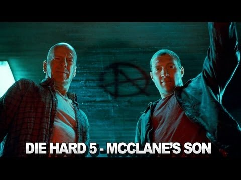 "A Good Day to Die Hard - ""Son"" Featurette"