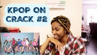 Download Lagu KPOP ON CRACK #2 l EXO, BTS, TWICE, SNSD, PRISTIN, DIA, BLACKPINK, RED VELVET, etc l [KPOP REACTION] Mp3