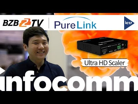 UHD-Scaler-FC: HDMI 2.0, 4K/60 4:4:4, HDCP 2.2 Ultra HD Scaler with Frame Conversion