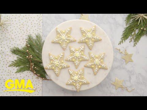 Melania Trump's star sugar cookies
