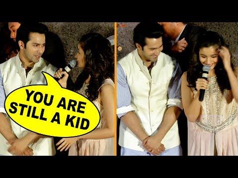 Varun Dhawan Makes Fun Of Alia Bhatt, Calls Her A