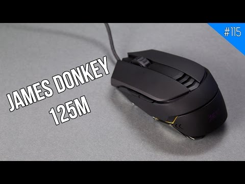JAMES DONKEY 125M: Chuột chơi game tốt nhất dưới 600.000 VNĐ