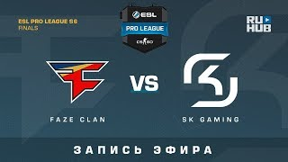 FaZe vs SK - ESL Pro League S6 Grand Finals - map3 - de_mirage [Enkanis, yXo]