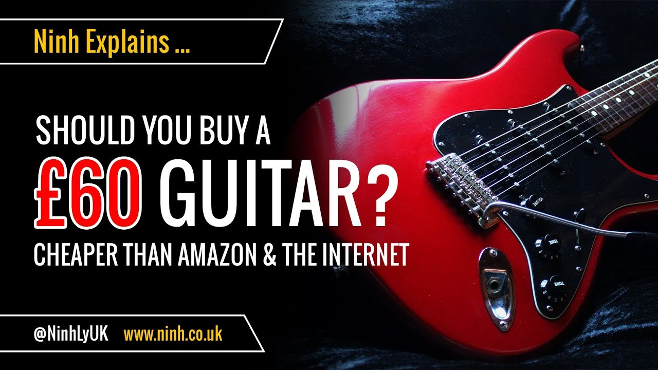 🎸 Should you buy a £60 Electric Guitar??? Glarry Stratocaster Copy for $60! 🎸