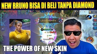 Video BELI SKIN BARU BRUNO GRATIS TANPA DIAMOND NIH  - Mobile Legend Bang Bang MP3, 3GP, MP4, WEBM, AVI, FLV Juni 2018