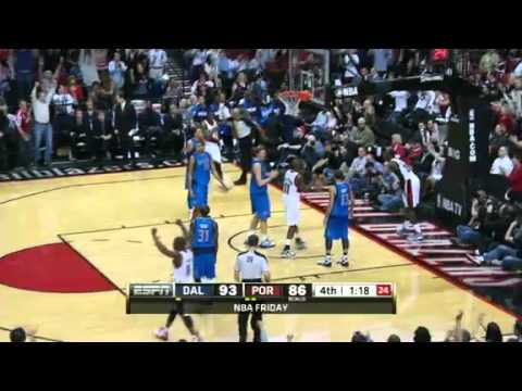 JJ Hickson's three-point play against Mavericks