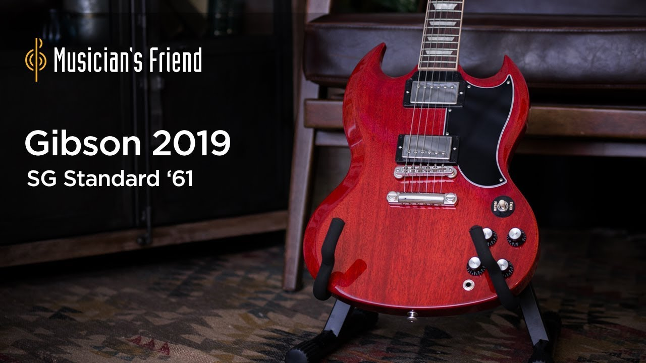 Gibson 2019 SG Standard '61 Electric Guitar Demo