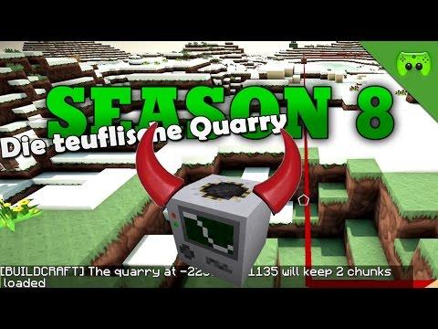 DIE TEUFLISCHE QUARRY «» Minecraft Season 8 # 206   HD