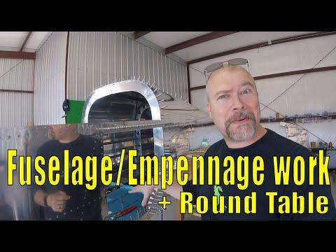 RV-10 Fuselage - 036 - Fuselage / Empennage Work & Secret Stuff